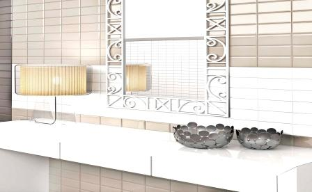 AZULEJO MELLOW COTTON (SUBWAY TILE).